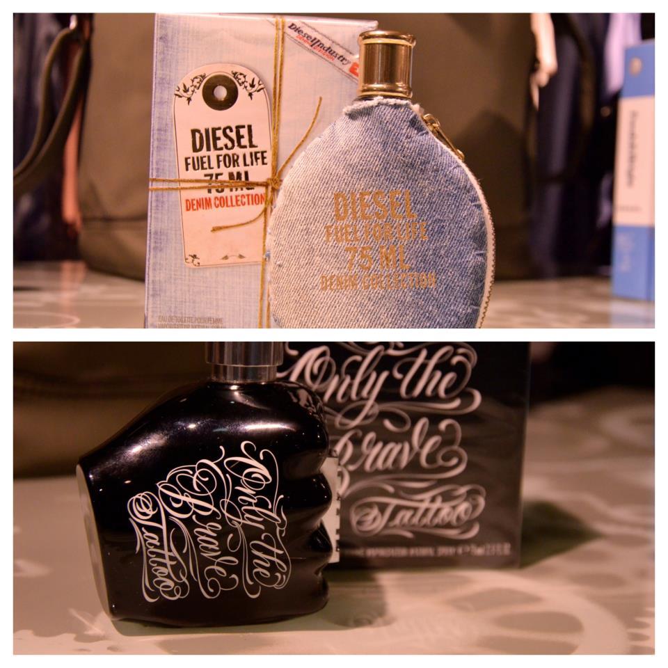 DIESEL 1 perfume feminino e 1 perfume masculino