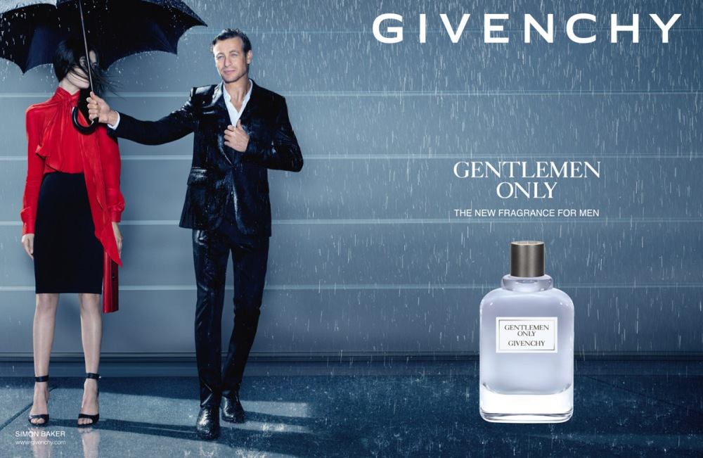 Givenchy Gentleman Only campaign
